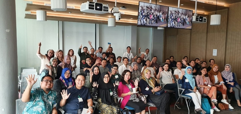 Fasilitator di kantor Google Indonesia