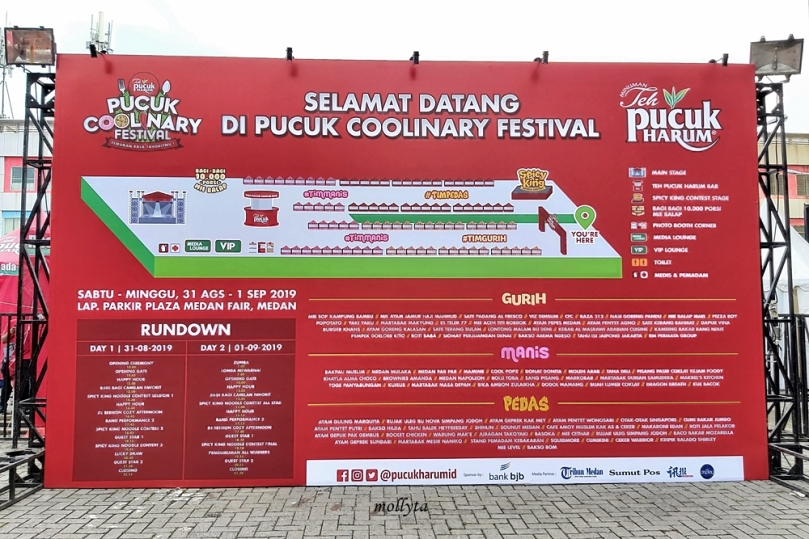 Pucuk Coolinary Festival Medan 2019