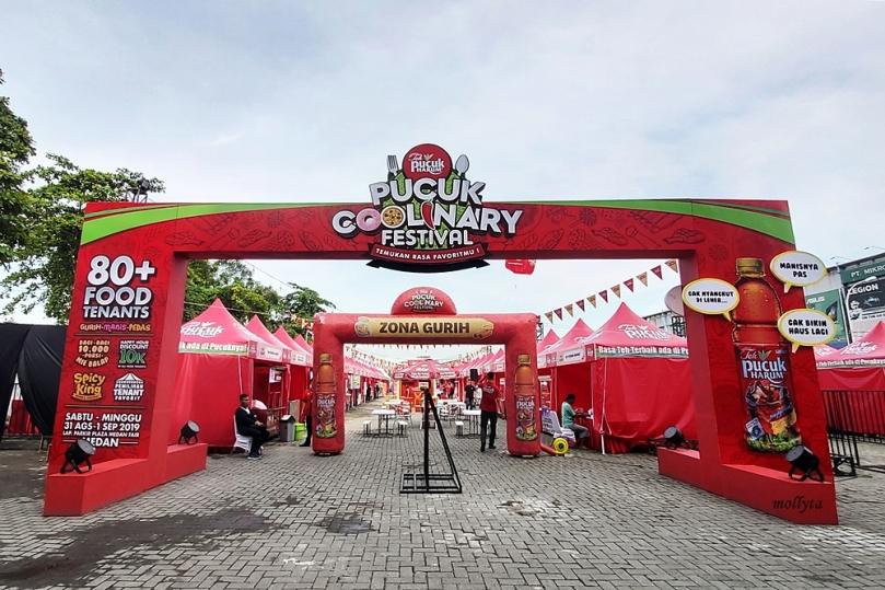 Area Pucuk Coolinary Festival Medan 2019