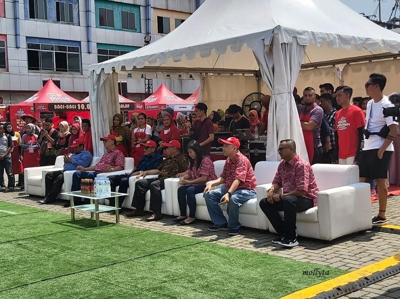 Pembukaan Pucuk Coolinary Festival Medan 2019