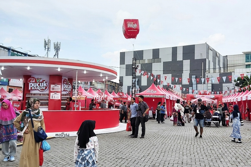 Pucuh Harum Bar di Pucuk Coolinary Festival Medan 2019