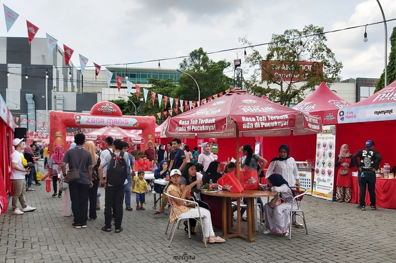 Zona Manis Pucuk Coolinary Festival Medan 2019