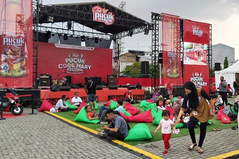 Bersantai di Pucuk Coolinary Festival Medan 2019
