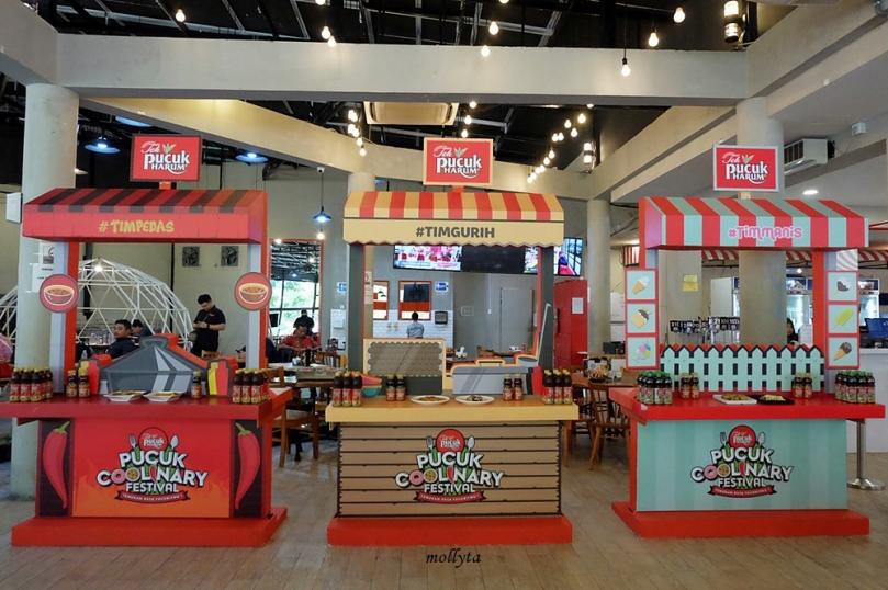 Tiga zona rasa Pucuk Coolinary Festival Medan 2019