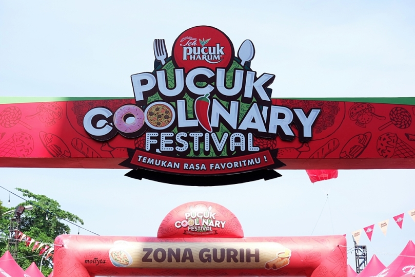 Zona Gurih Pucuk Coolinary Festival Medan 2019