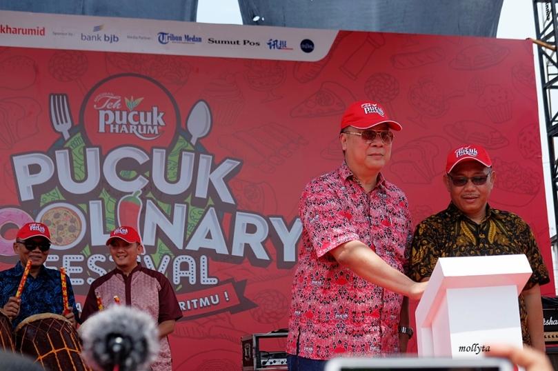 Acara pembukaan Pucuk Coolinary Festival 2019