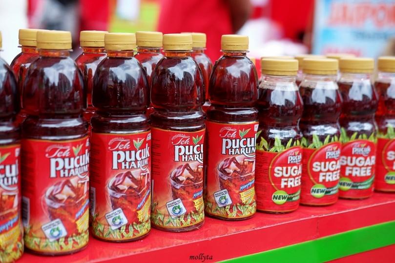 Teh Pucuk Harum di Pucuk Coolinary Festival Medan 2019