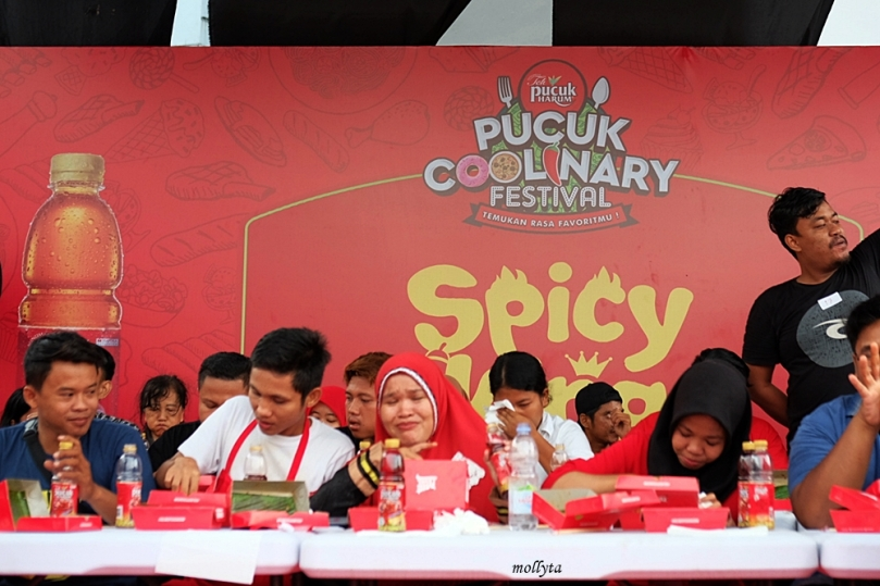 Spicy King Noodle Contest di Pucuk Culinary Festival Medan 2019