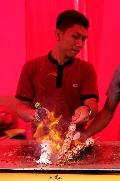 Cumi bakar Pucuk Coolinary Festival Medan 2019