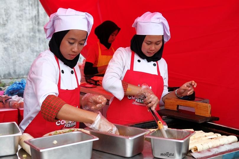 Kebab Al Masrawi di Pucuk Coolinary Festival Medan