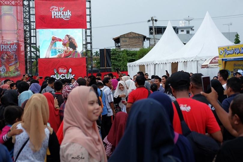 Keramaian di Pucuk Coolinary Festival 2019