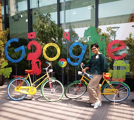 Mollyta Mochtar ikut Train the Master Trainer Google Indonesia