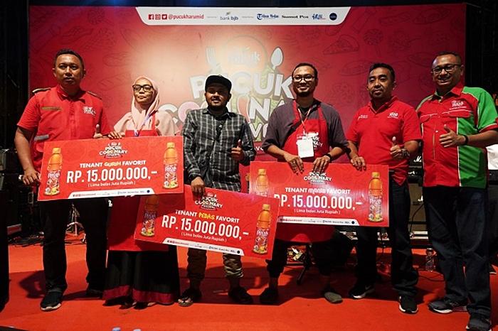 Pemenang tenant favorit Pucuk Coolinary Festival Medan 2019
