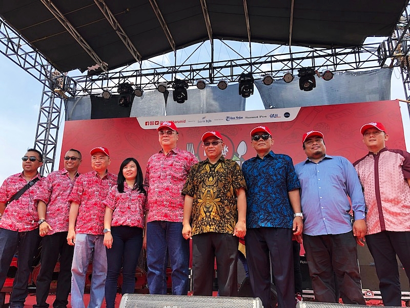 Saat pembukaan Pucuk Coolinary Festival 2019 Medan