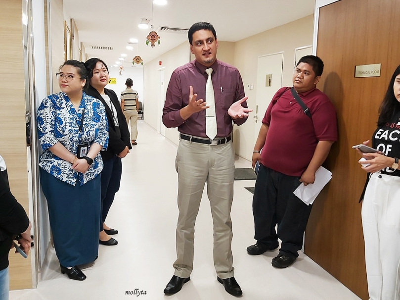 Dr.Amir Shah di Gleneagles Hospital Penang