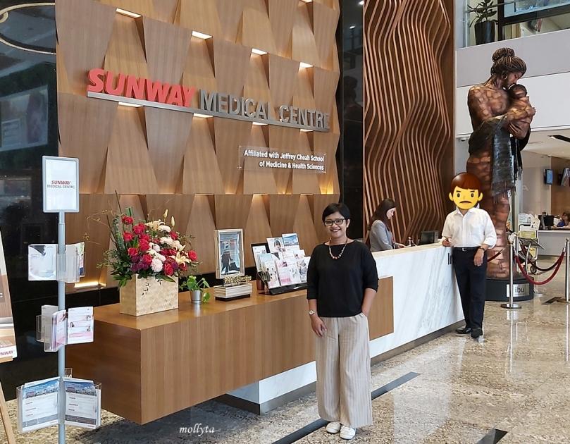 Usai Medical Check Up di Sunway Medical Centre