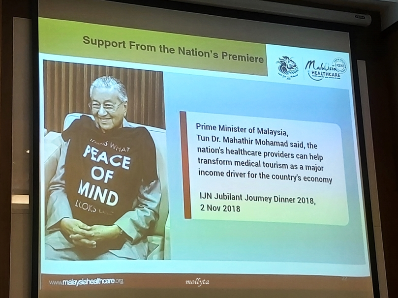 Dukungan Perdana Menteri Malaysia untuk MHTC