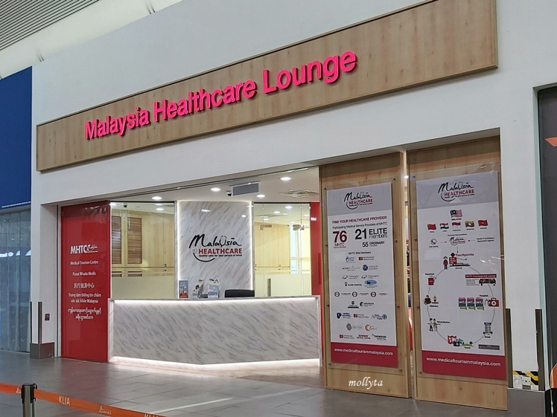 Malaysia Healthcare Lounge di KLIA 2