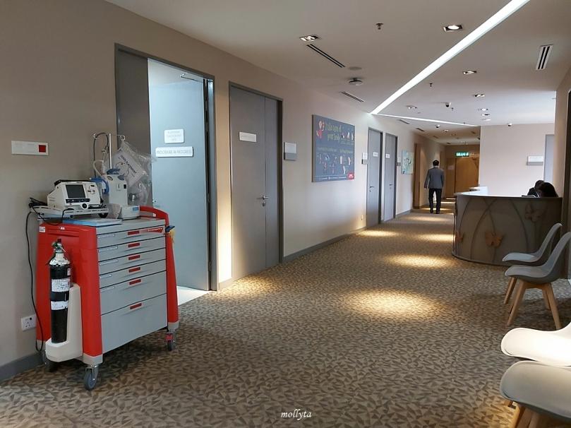 Ruang di Wellness Centre Sunway Medical Centre