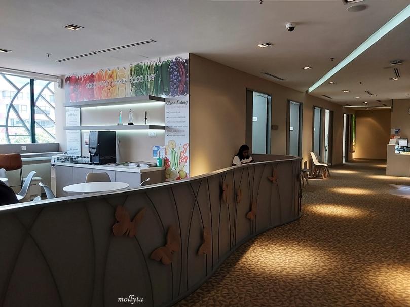 Ruangan di Wellness Centre Sunway Medical Centre