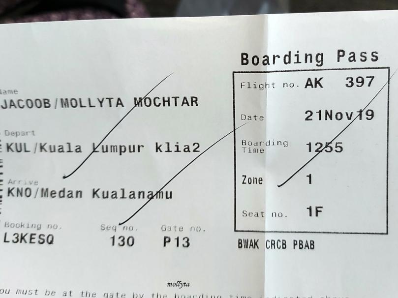 Penerbangan Kuala Lumpur ke Medan