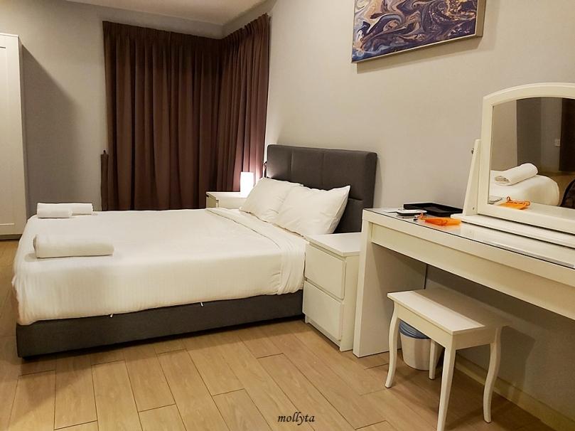 Ruangan kamar di Palmville Resort Condominium
