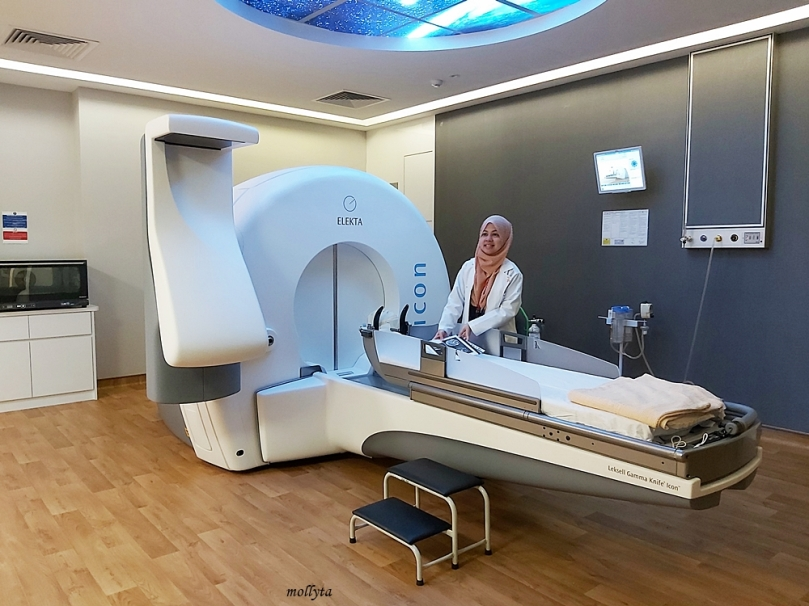 Leksell Gamma Knife Icon di Sunway Medical Centre