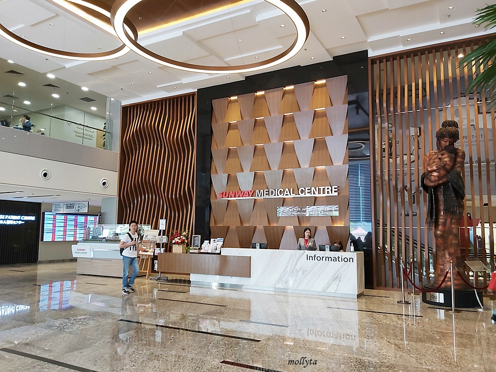 Main lobby Sunway Medical Centre