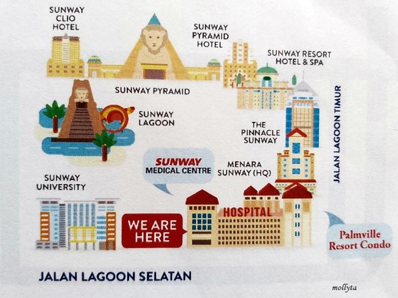 Palmville Resort Condominium dekat dengan Sunway Medical Centre