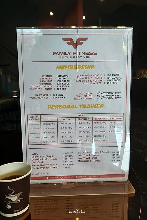 Membership FamFit Medan