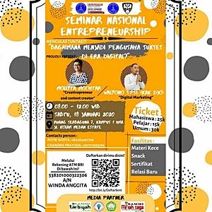 Mollyta Mochtar pembicara Seminar Wirausaha di Medan
