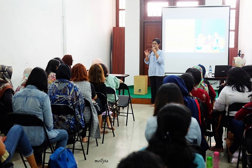 Kelas partnership Womenwill di Medan