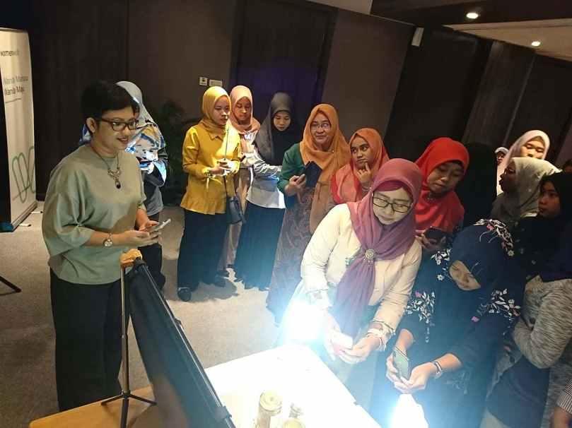 Belajar fotografi makanan kelas Womenwill Medan