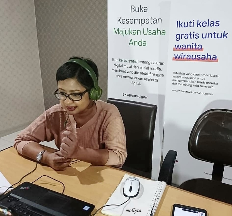 Kelas online Womenwill Medan