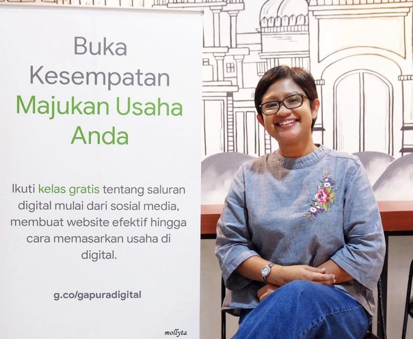 Mollyta Mochtar fasilitator Womenwill Medan