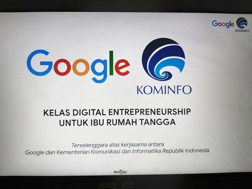 Kelas Digital Entrepreneurship Google dan Kominfo