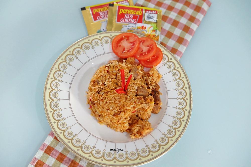 Cara masak nasi goreng dengan bumbu perencah Adabi