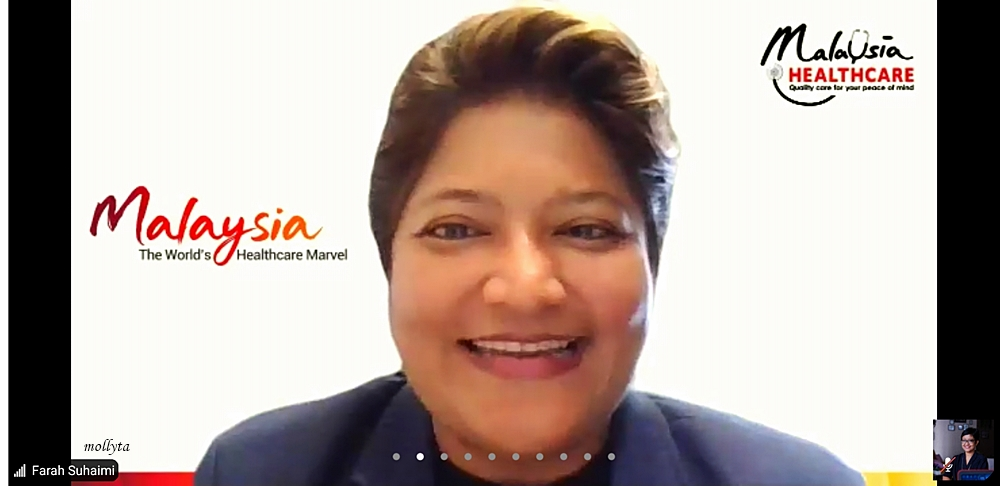 Ms.Farah Delah Suhaimi Director Market Development-Indonesia MHTC