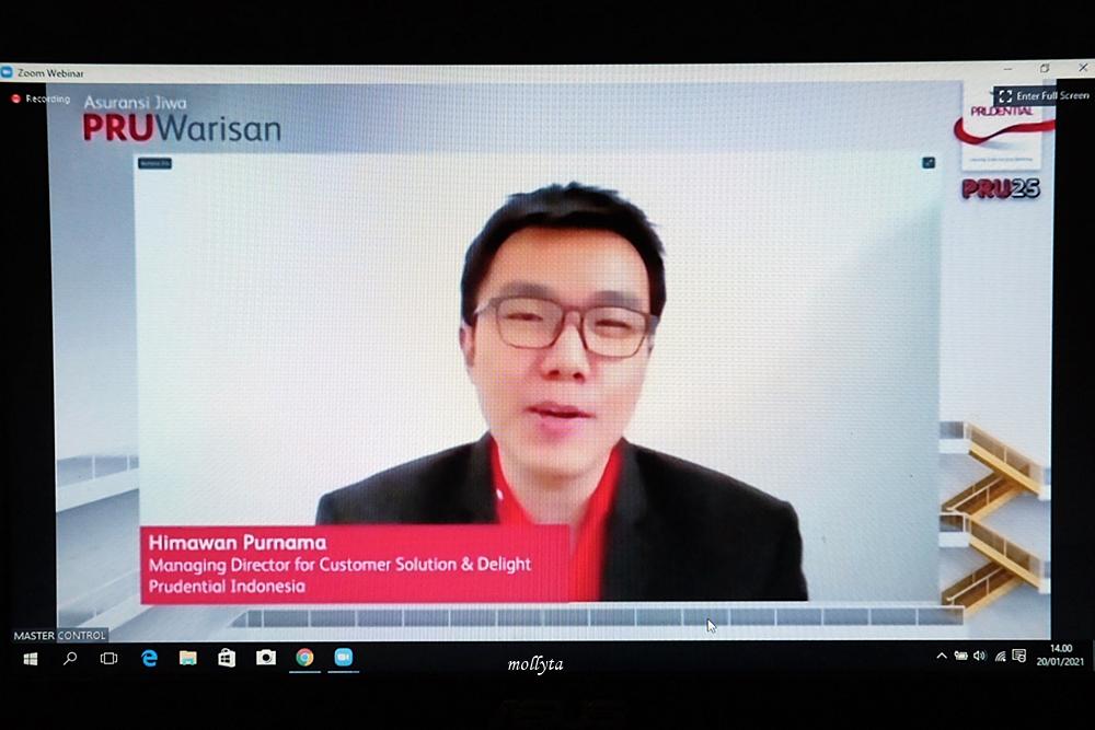 Himawan Purnama dari Prudential Indonesia