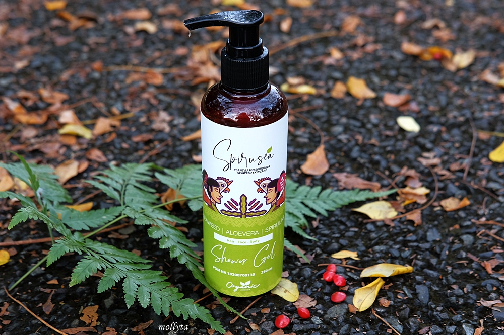Shower Gel Spirulina dari Organic Lombok