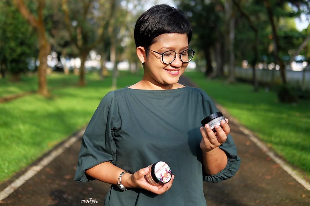Organic Lombok skincare anti jerawat