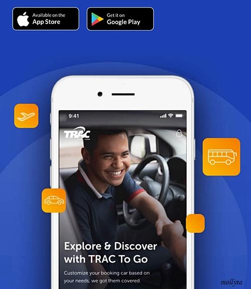 Aplikasi TRAC to Go memudahkan perjalanan