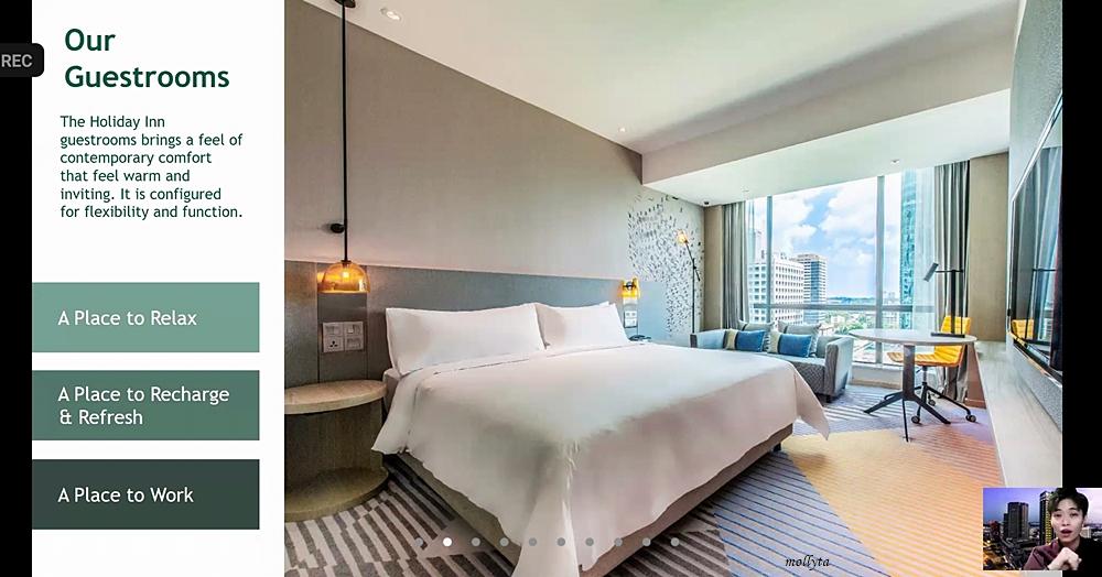Kamar di Holiday Inn Johor