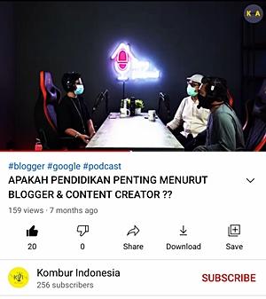 Mollyta Mochtar narasumber di podcast Kombur Indonesia