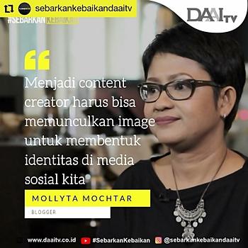 Mollyta Mochtar Blogger Medan berbagi tips menulis