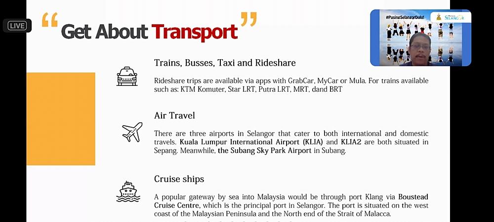 Pilihan transportasi ke Selangor Malaysia