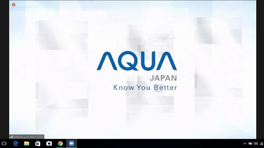 webinar AQUA Japan untuk kota Medan
