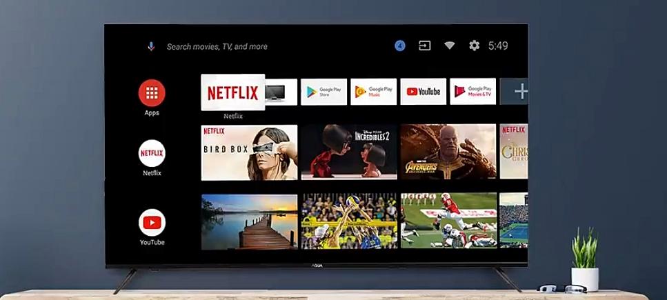 Android Smart TV AQUA Japan
